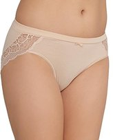 Bali Women's Cotton Desire W/ Lace Hipster
