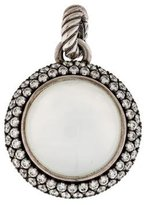 David Yurman Moon Quartz Cerise Enhancer Pendant
