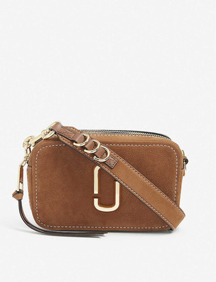 Marc Jacobs Softshot 21 suede shoulder bag