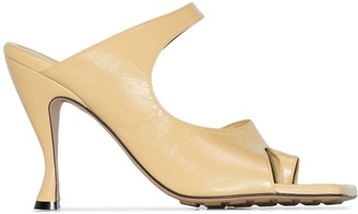 Bottega Veneta square toe 90mm sandals