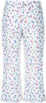 Altuzarra floral print cropped trousers