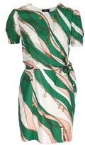 Elisabetta Franchi Celyn B. short twill dress