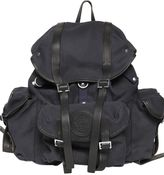 DSQUARED2 Military Cotton Canvas Backpack