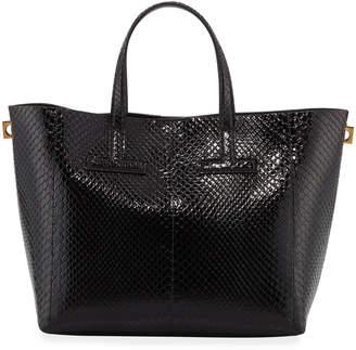 Tom Ford Mini T Python Tote Bag