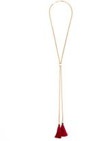 Chloé Lynn tassel-drop necklace