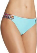 Profile Blush by Gottex Candy Apple Side Tab Bikini Bottom