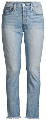 Polo Ralph Lauren Callen High-Rise Slim-Fit Ripped Jeans
