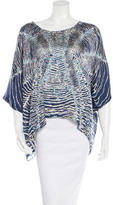 Alexis Oversize Printed Blouse