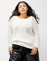 Lane Bryant 6th & Lane Remixed Shaker Sweater