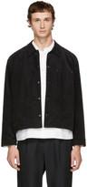Undecorated Man Black Corduroy Jacket