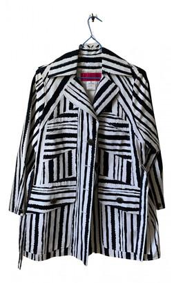 Christian Lacroix Black Cotton Trench coats