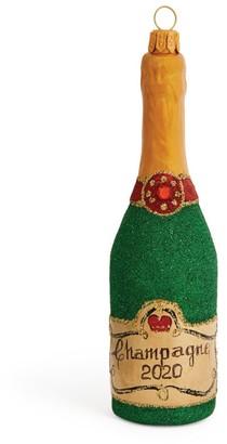 Harrods Champagne Christmas Decoration