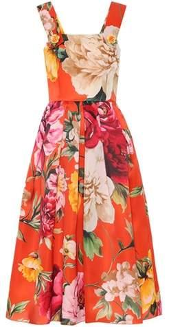 Dolce & Gabbana Embellished silk satin dress