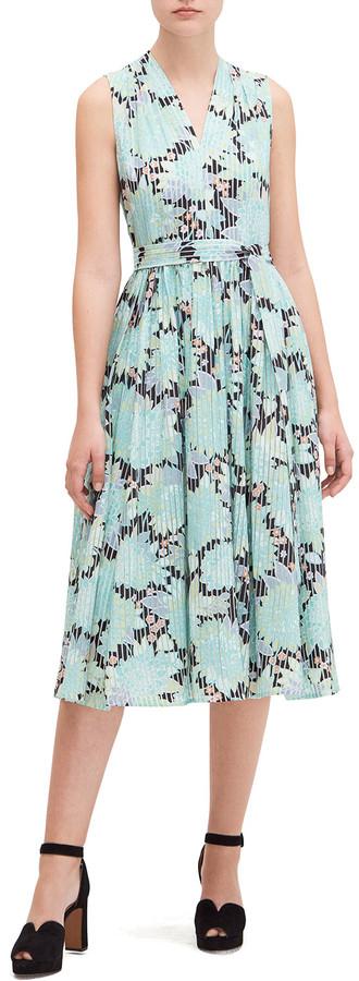 Kate Spade Dahlia Bloom Burnout Midi Dress