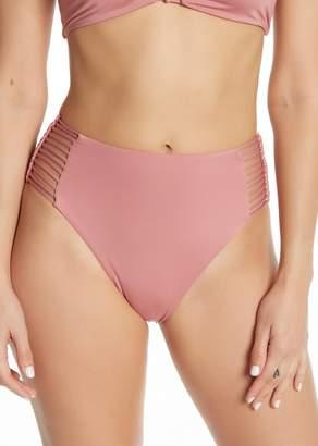Dolce Vita High Waist Bone Lace Bikini Bottom