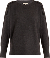 Vanessa Bruno Helga round-neck wool-blend sweater