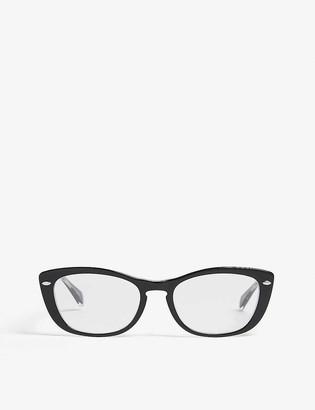 Ray-Ban Rx5366 cat-eye frame optical glasses