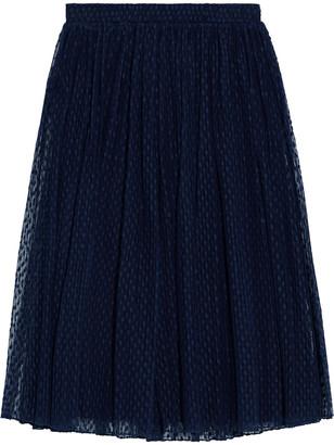 Baum und Pferdgarten Samye Gathered Cotton-blend Point D'esprit Skirt