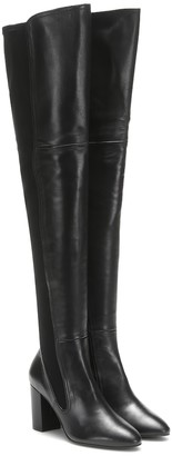 Stuart Weitzman Fleur leather over-the-knee boots