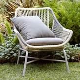 west elm Huron Small Lounge Chair + Cushion – Gray