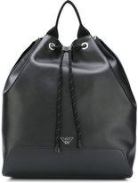 Emporio Armani bucket backpack