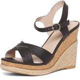 Dorothy Perkins Womens Black 'Roxy' Espadrille Wedges- Black