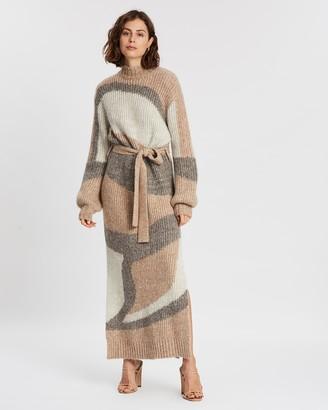 Steele Lune Knit Dress