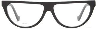 Loewe D-frame Acetate Glasses - Black