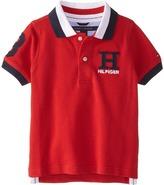 Tommy Hilfiger Short Sleeve Matt Polo (Toddler/Little Kids)