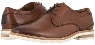 Florsheim Highland Plain Toe Oxford (Gray Suede/White Sole) Men's Shoes