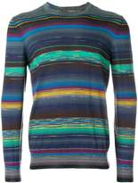 Missoni stripe patterned sweater