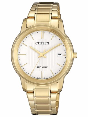 Citizen Women's Analogue Quartz Watch with Stainless Steel Strap FE6012-89A