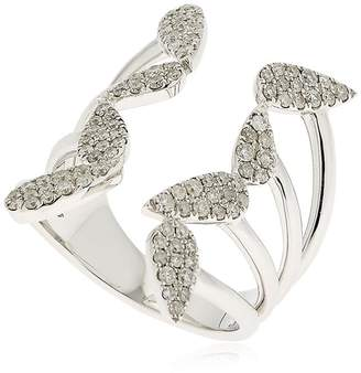 Leon Yvonne Paris OPEN PEAR DIAMOND WHITE GOLD RING