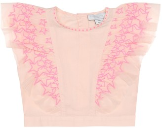 Stella McCartney Embroidered cotton top