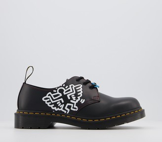 Dr. Martens Keith Haring 1461 3 Eye Shoes M Black