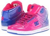 DC Rebound High LE W (Dazzling Blue Print) - Footwear