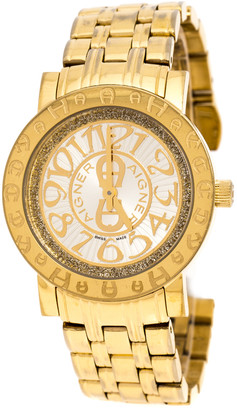 Aigner Gold Plated Stainless Steel Cortina A26300 Women's Wristwatch 35 mm