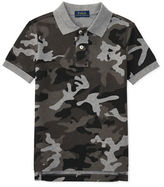 Ralph Lauren Childrenswear Camo Cotton Polo Shirt