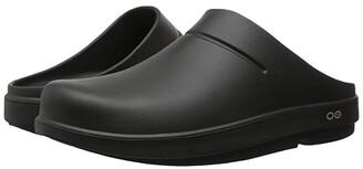 OOFOS OOcloog (Black/Black) Clog Shoes