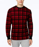 Polo Ralph Lauren Men's Plaid Waffle-Knit Crew-Neck Thermal Top