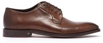 Paul Smith Chester Leather Derby Shoes - Mens - Brown