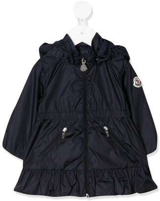 Moncler Enfant Hooded Raincoat