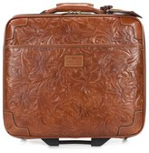 "Patricia Nash Tooled Florence Petrarca 16"" Carry-On Trolley"