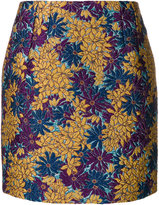 Dolce & Gabbana metallic jacquard mini skirt