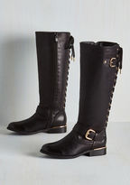 ModCloth On Vocation Time Boot in Black in 5.5