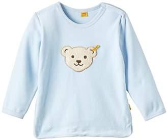 Steiff Sweatshirt 1/1 Arm Baby Blue 3023, (Size: 86)