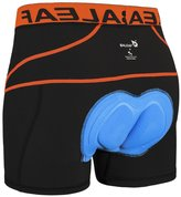 Baleaf Men's 3D Padded Coolmax Bicycle Cycling Underwear Shorts (, L)
