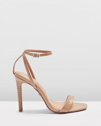 Topshop Saskia Skinny Two-Part Heels