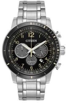 Citizen Eco-Drive Chronograph Bracelet Watch