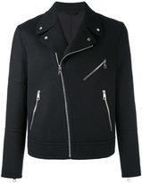 Neil Barrett biker jacket - men - Polyamide/Spandex/Elastane/Cupro/Wool - S